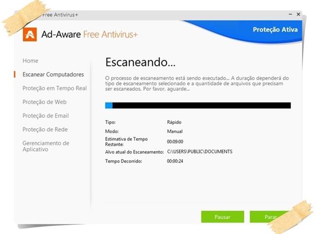 Ad-Aware Free Antivirus+ - Imagem 1 do software