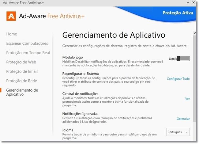Ad-Aware Free Antivirus+ - Imagem 5 do software