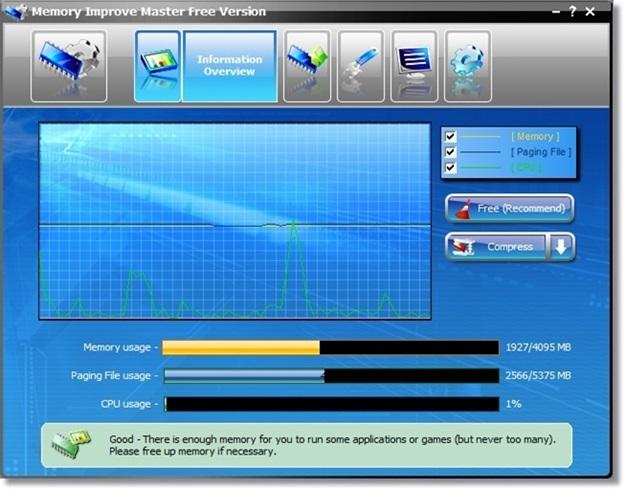 Memory Improve Master - Imagem 2 do software