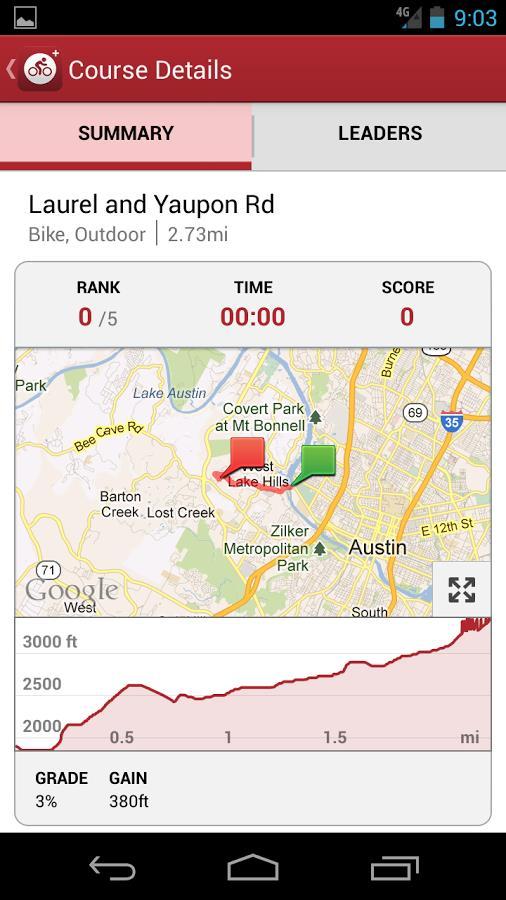 MapMyRide+ GPS Cycling Riding (Pago) - Imagem 2 do software