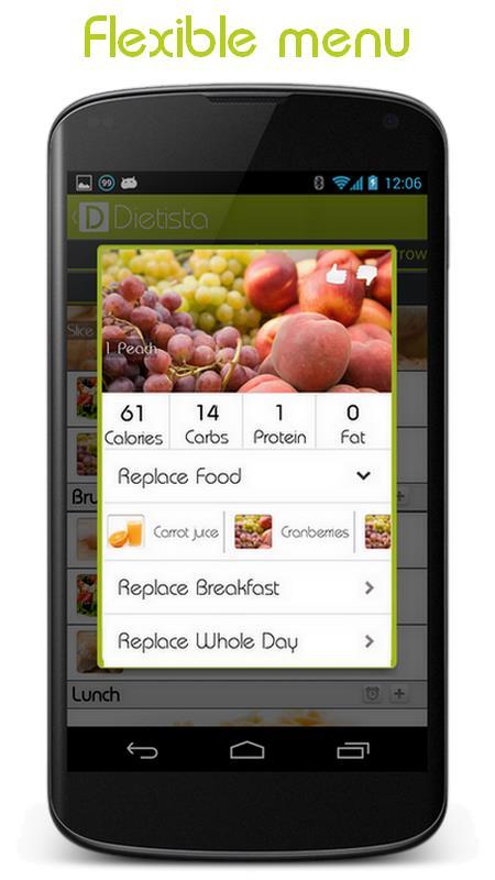 Dietista - Your Nutritionist - Imagem 2 do software