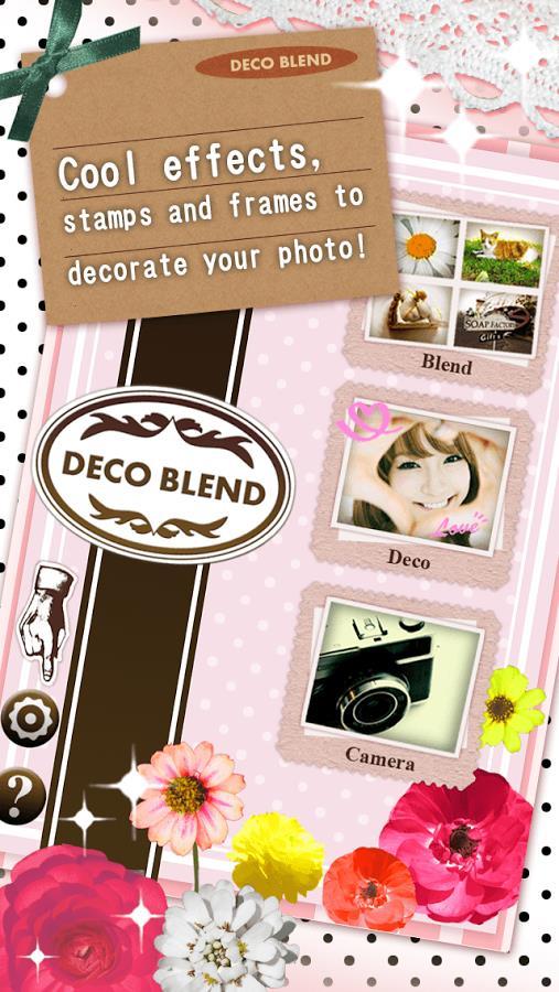 Collage Photo Editor DecoBlend - Imagem 1 do software