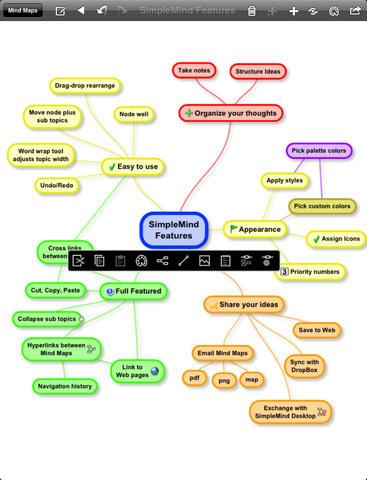 SimpleMind+ (mind mapping) Free - Imagem 2 do software