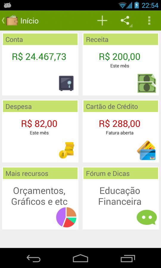 Gerenciador Financeiro Delx - Imagem 1 do software