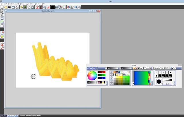 Pixia - Imagem 1 do software