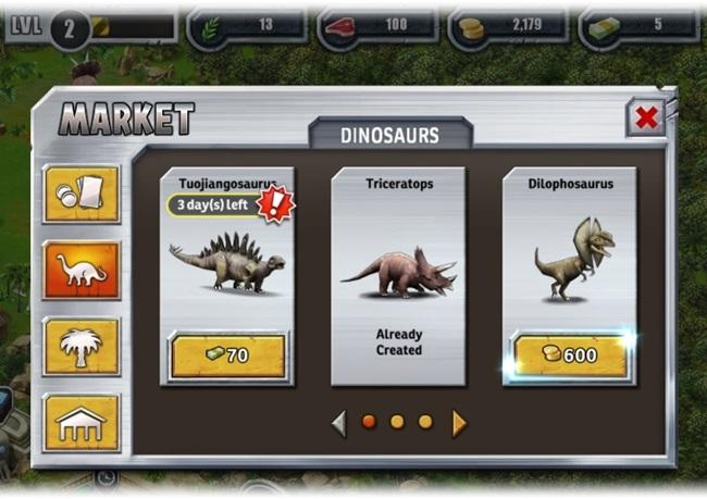 Jurassic Park Builder Download para Web Grátis