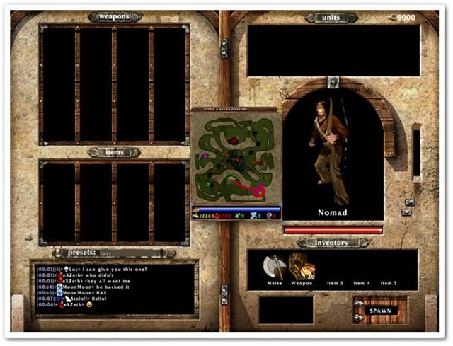 Savage XR - Imagem 2 do software