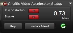 Giraffic Video Accelerator