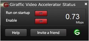 Giraffic Video Accelerator