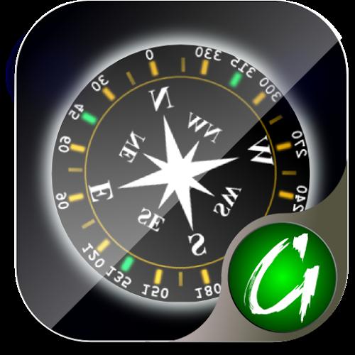 Logo 3D Bússola ícone