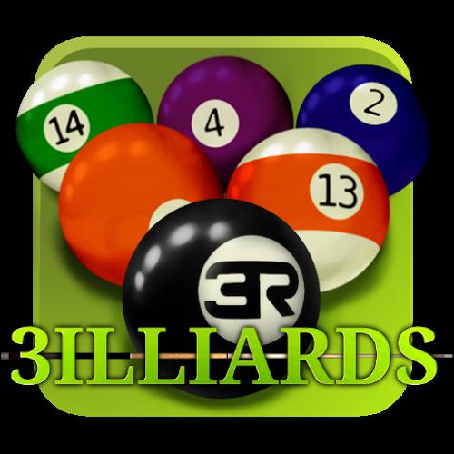 Logo 3ILLIARDS Free ícone