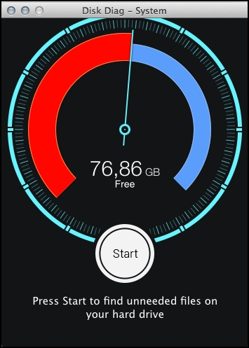 Disk Diag - Imagem 2 do software