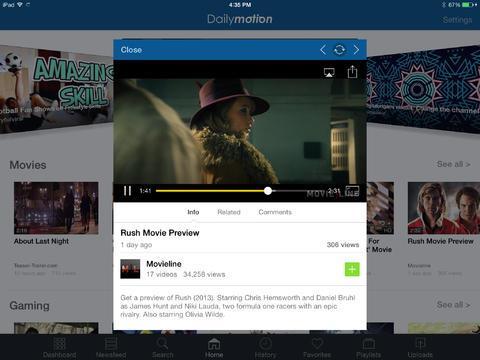 Dailymotion - Imagem 1 do software