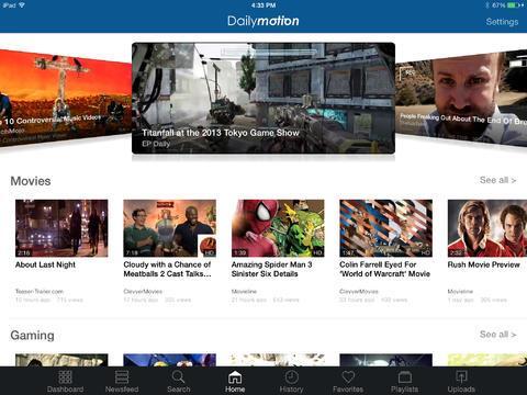 Dailymotion - Imagem 2 do software