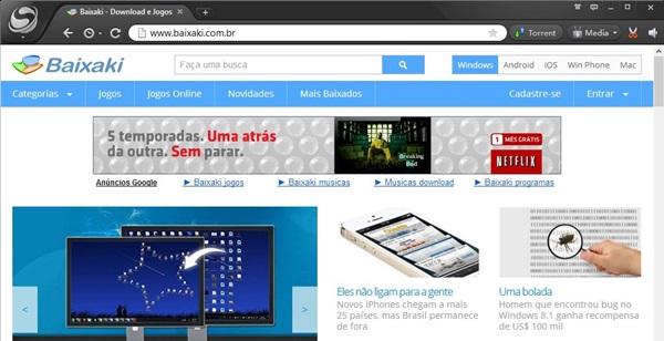 Spark Browser.