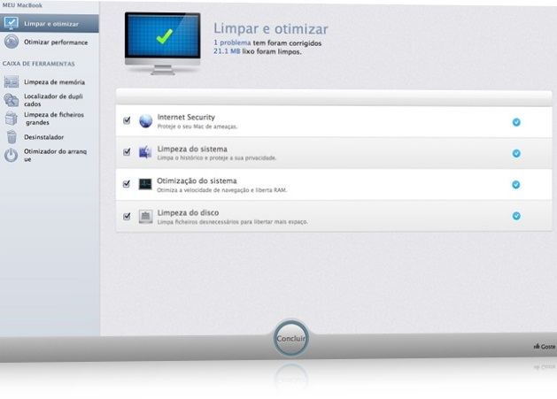 MacBooster - Imagem 1 do software