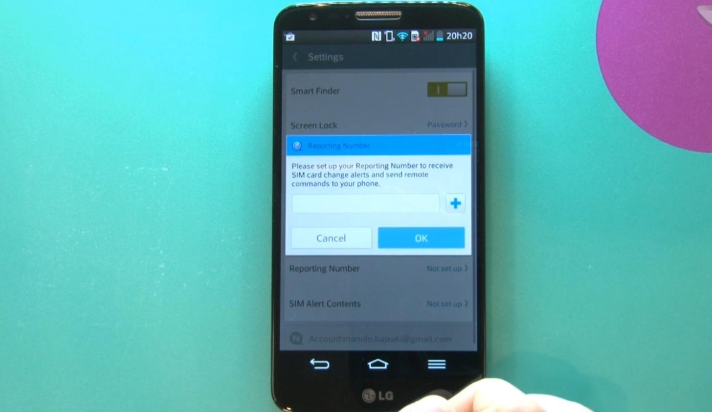 Como localizar um celular samsung s5