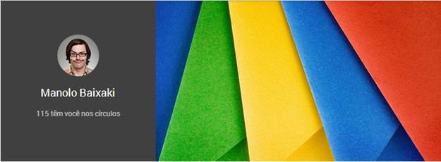 Alterando a URL do Google+