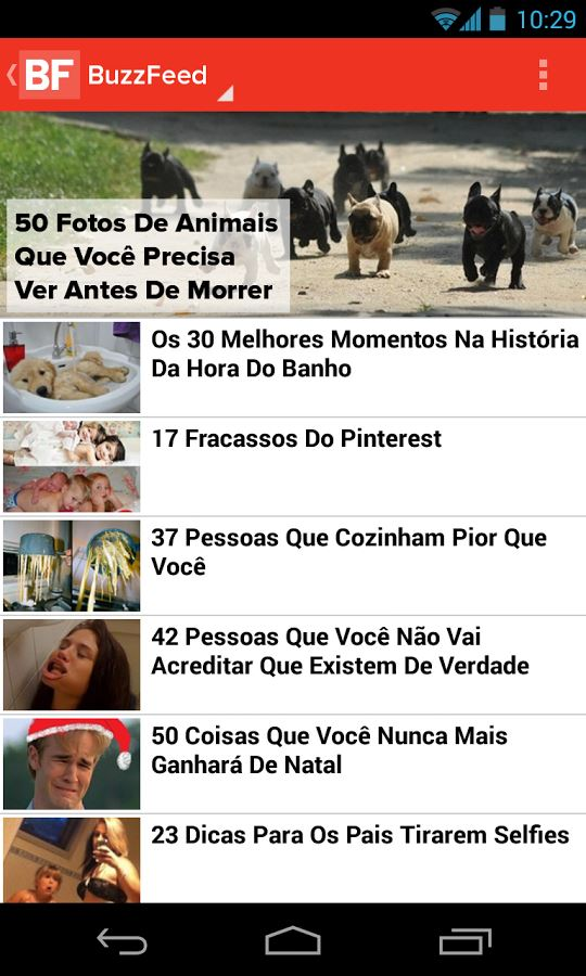 BuzzFeed - Imagem 1 do software