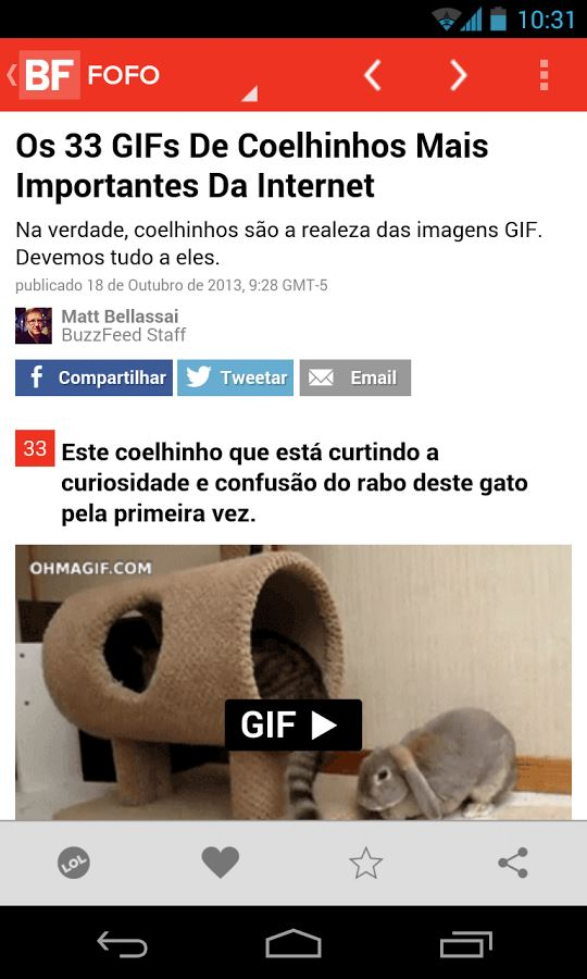 BuzzFeed - Imagem 2 do software