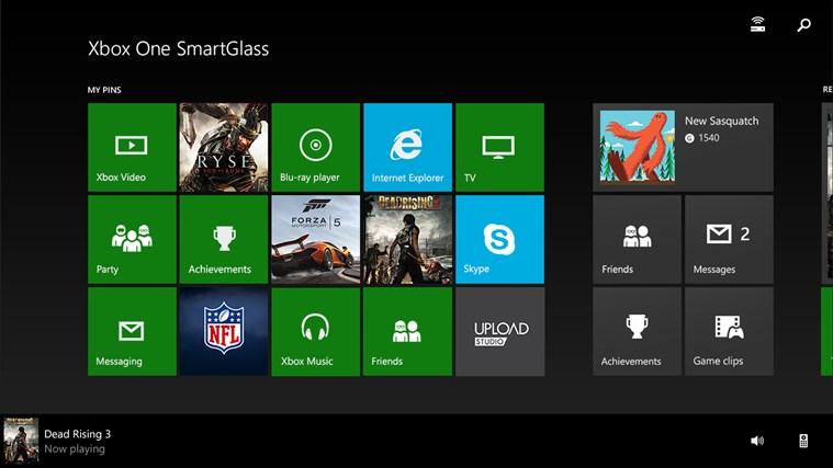 Xbox One SmartGlass - Imagem 1 do software