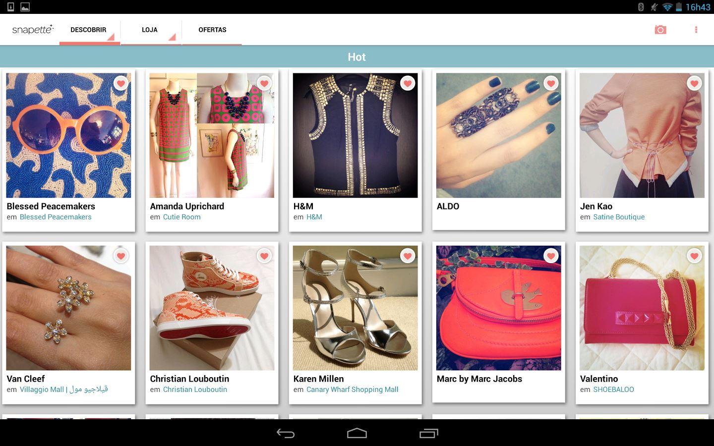 Snapette - Shopping & Fashion - Imagem 1 do software
