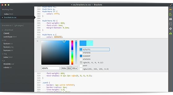 Brackets - Imagem 3 do software