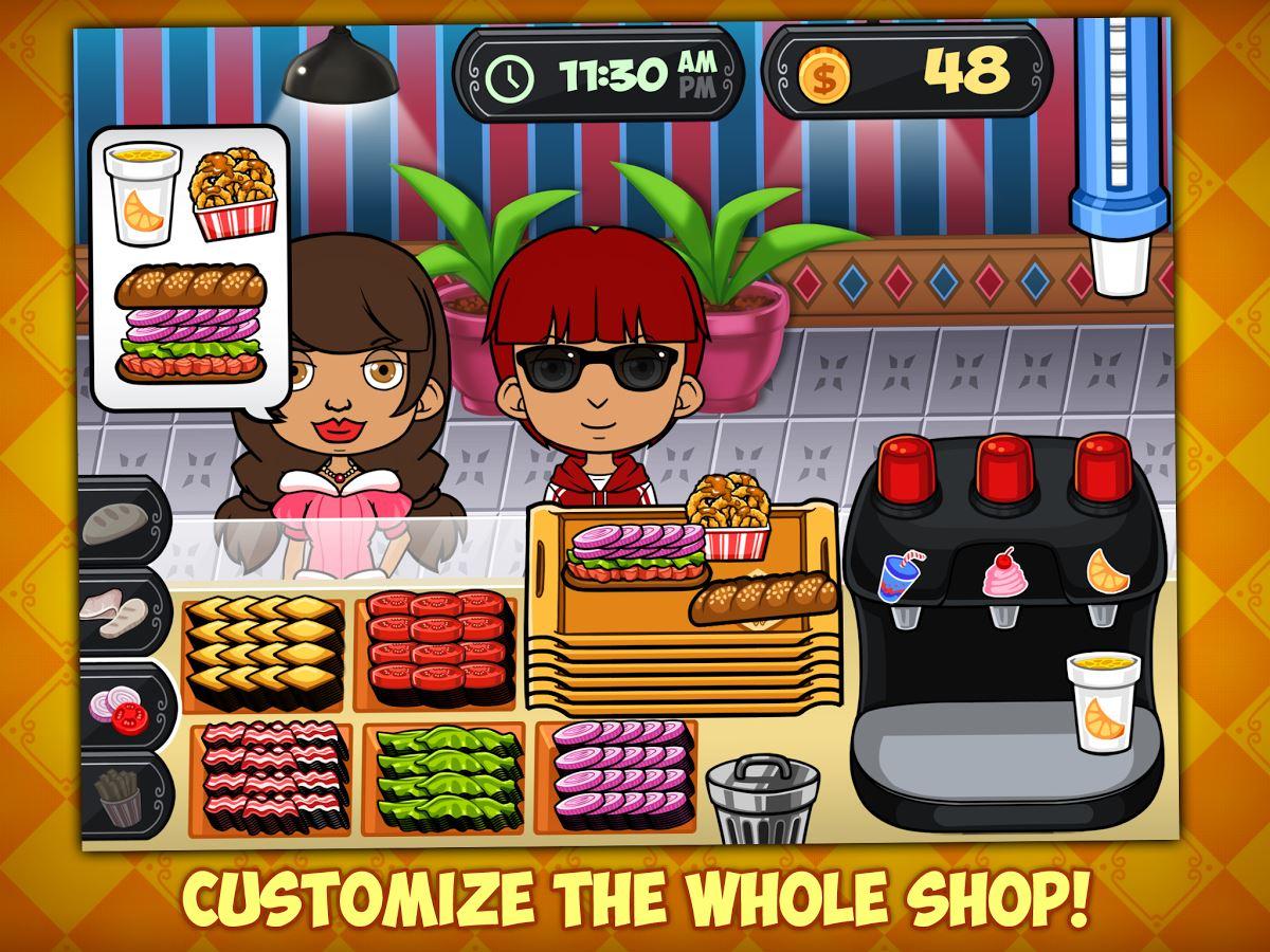 My Sandwich Shop - Kids Game - Imagem 1 do software
