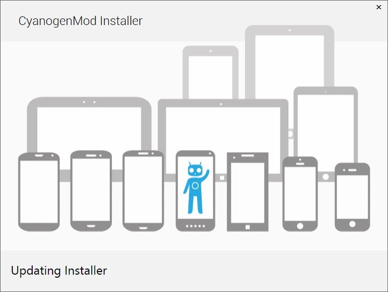 CyanogenMod Installer.