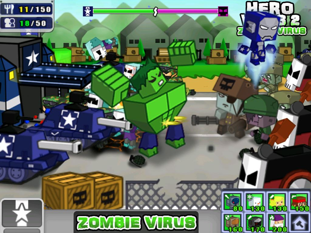 Hero Wars 2: Zombie Virus - Imagem 1 do software