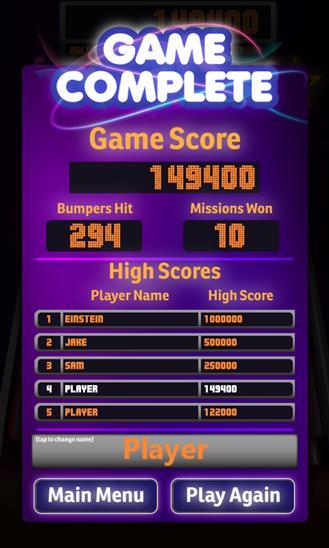 Pinball Star - Imagem 2 do software