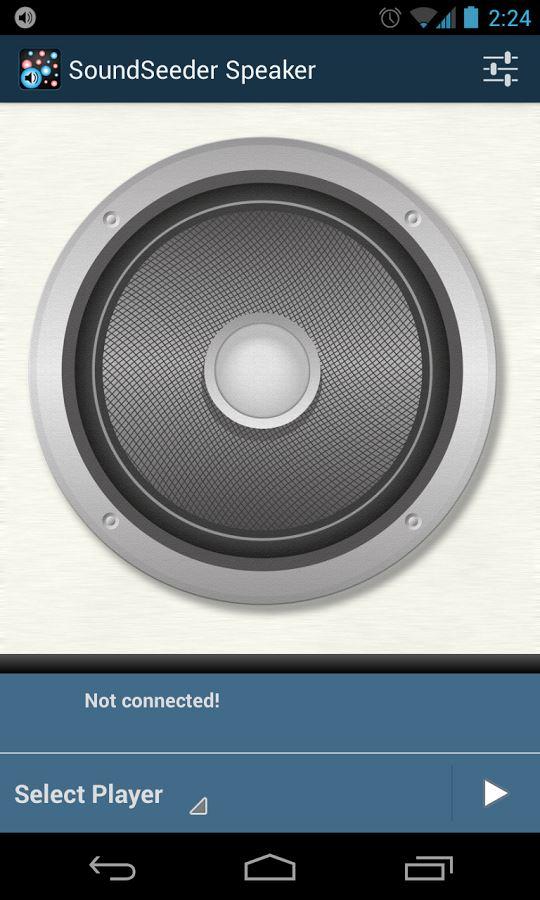 SoundSeeder Speaker - Imagem 2 do software