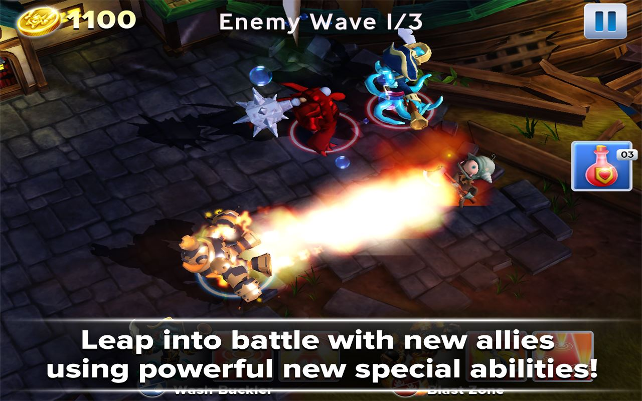 Skylanders Battlegrounds - Imagem 1 do software