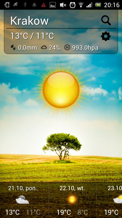Cute Weather - Imagem 1 do software