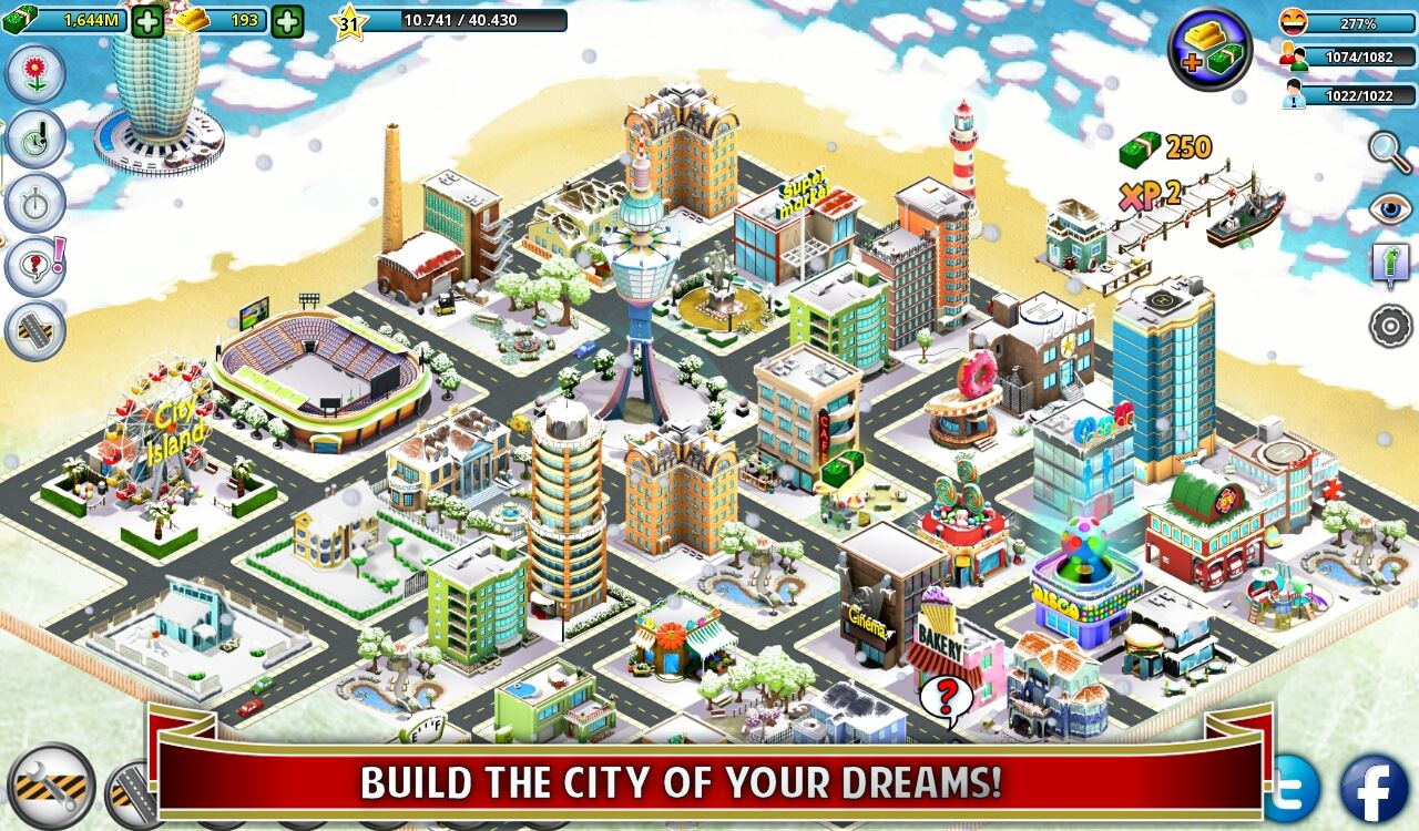 City Island: Winter Edition - Imagem 1 do software