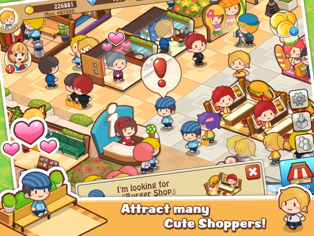 Happy Mall Story - Imagem 1 do software