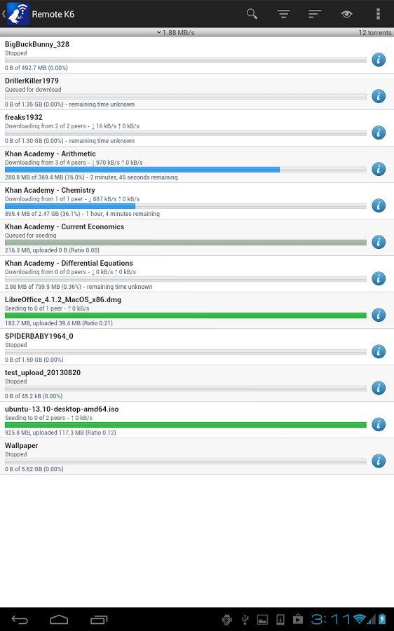 Vuze Remote - Imagem 1 do software