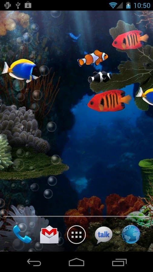 Aquarium Free Live Wallpaper - Imagem 1 do software