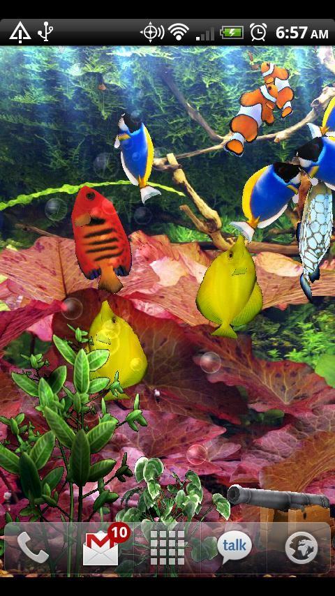 Aquarium Free Live Wallpaper - Imagem 2 do software