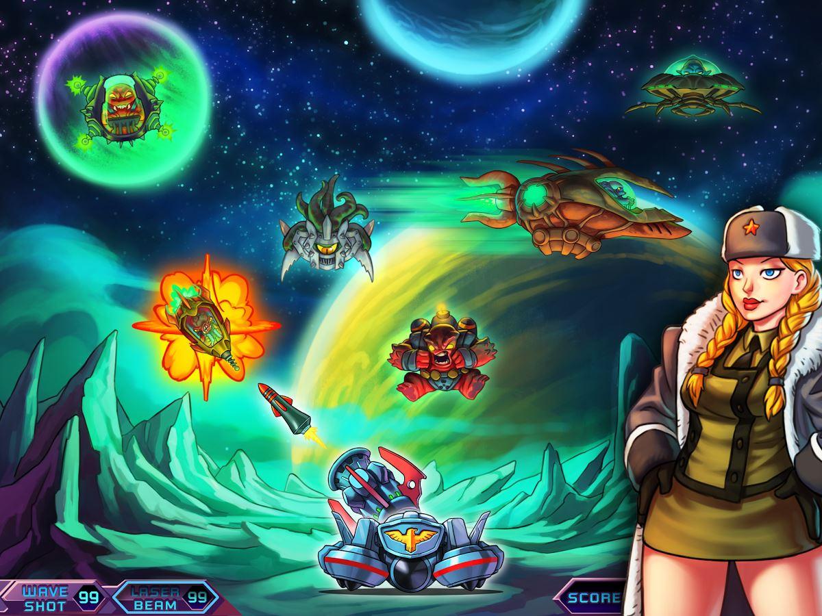 Alien War - A Força Alienígena - Imagem 1 do software