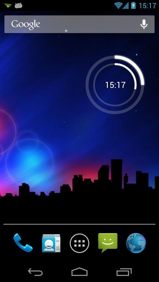 Circle Clock Widget - Imagem 1 do software