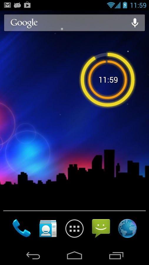 Circle Clock Widget - Imagem 2 do software