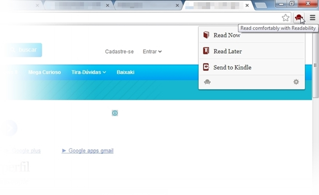 Readability para Google Chrome - Imagem 2 do software