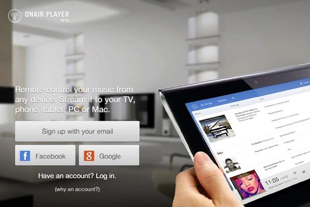 OnAir Player - Imagem 1 do software