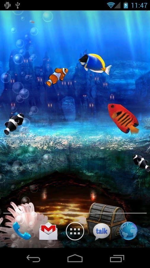 Aquarium Live Wallpaper - Imagem 2 do software