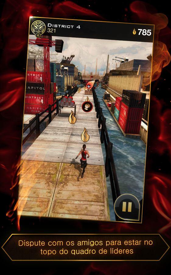 Hunger Games: Panem Run - Imagem 2 do software