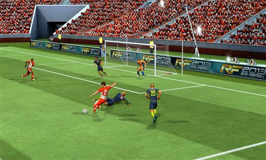 Real Football 2013 - Imagem 2 do software