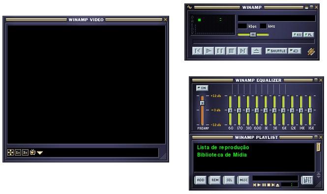 Winamp 2 Classic Skin for VLC - Imagem 1 do software