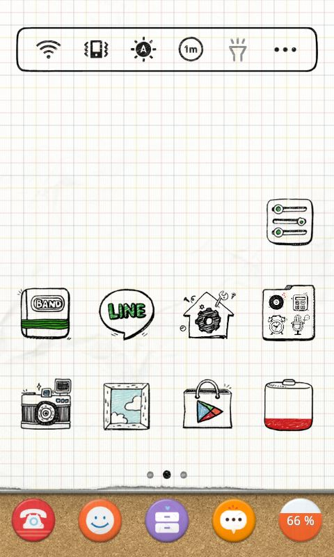 dodol Launcher - phone decor - Imagem 2 do software