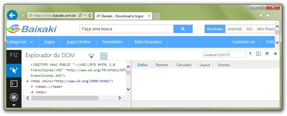 Internet Explorer 11 para Windows 7 - Imagem 4 do software